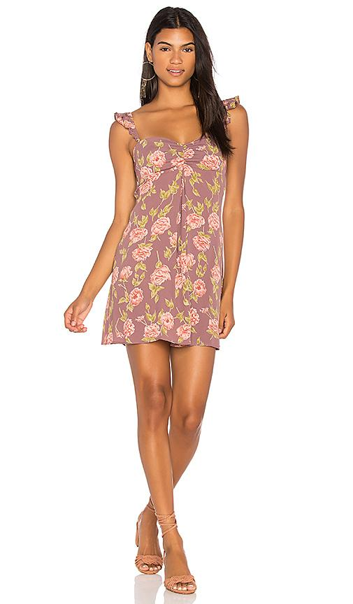 Flynn Skye Carla Mini Dress In Mauve