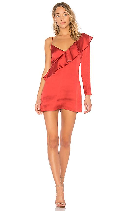 Lovers & Friends X Revolve Haven Dress In Red