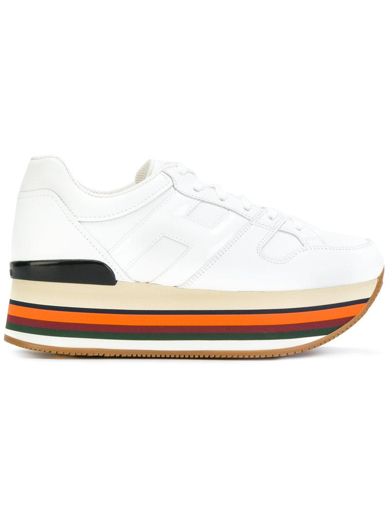 Hogan Sneakers Maxi H222 In White