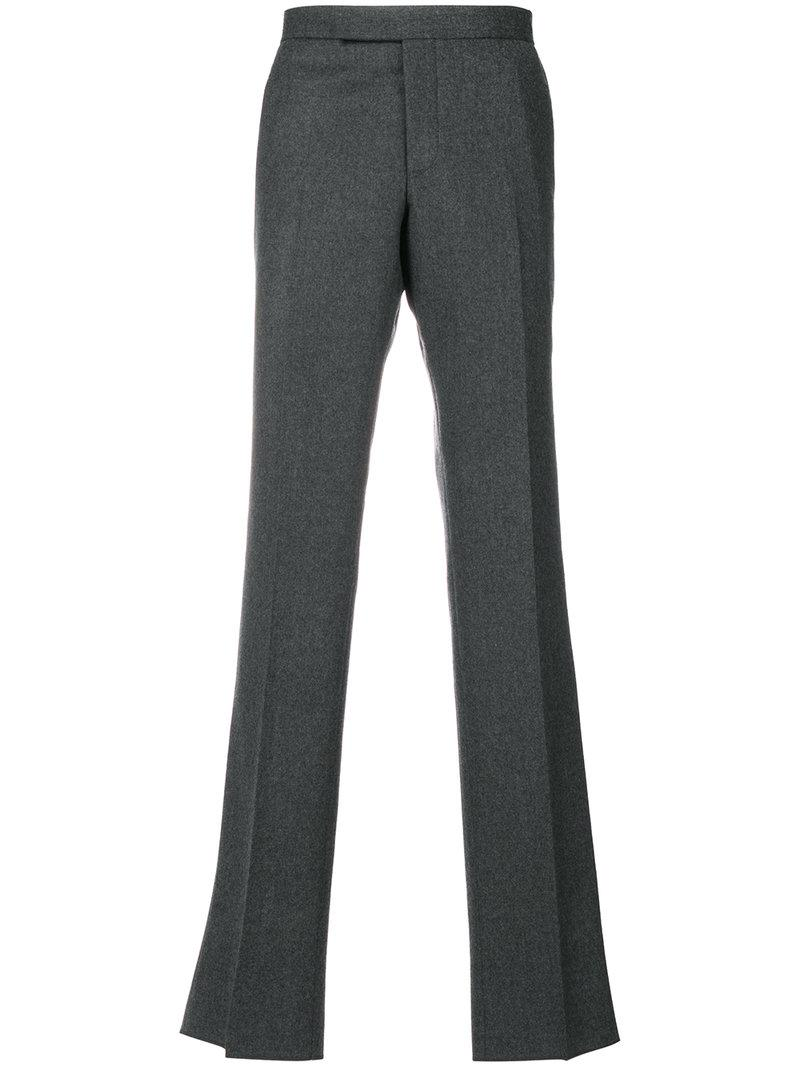 Thom Browne Classic Tailored Trousers - Grey