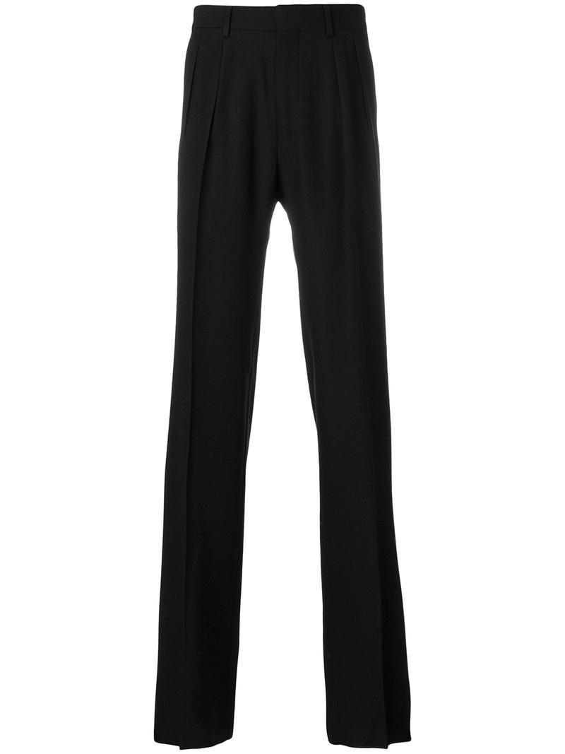 Tom Ford Straight-leg Tailored Trousers - Black