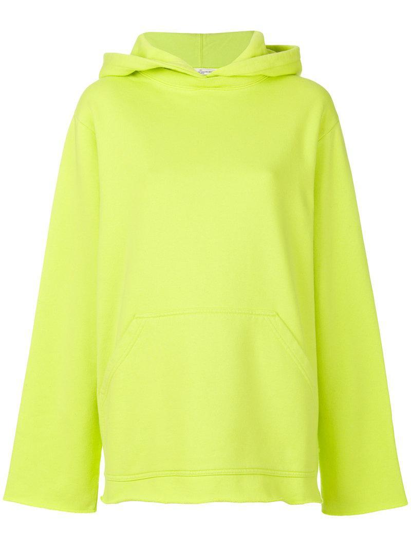 Golden Goose Classic Hooded Sweatshirt In Yellow