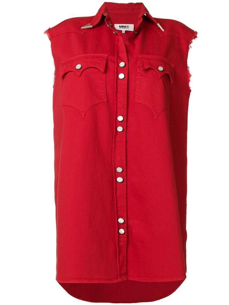 Mm6 Maison Margiela Saloon Shirt Dress