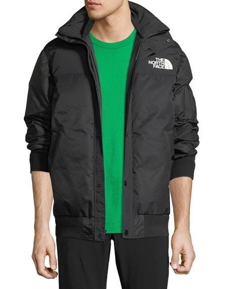 9009357e5 The North Face & #174 Puffer Bomber Coat in Black