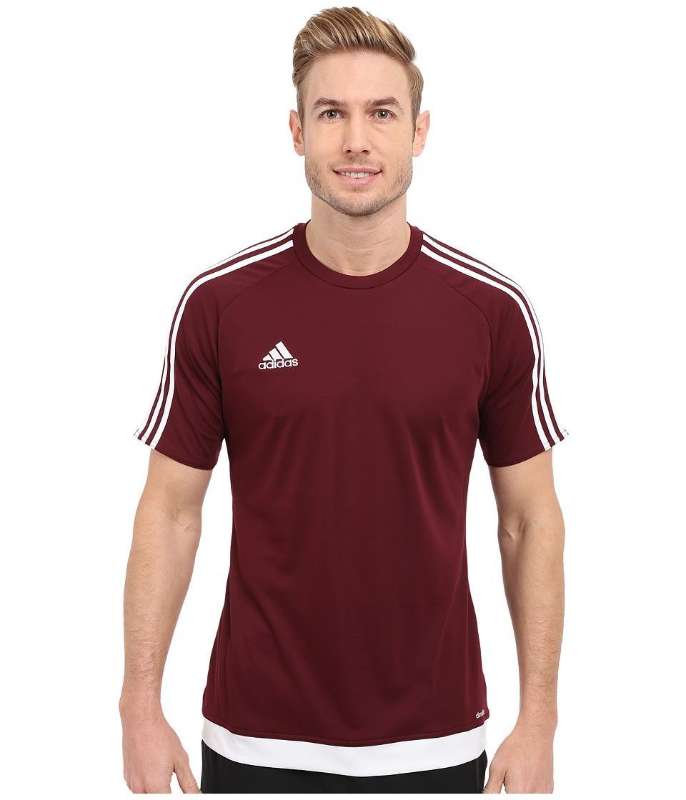 Adidas Originals Adidas - Estro 15 Jersey (maroon/white) Men's ...