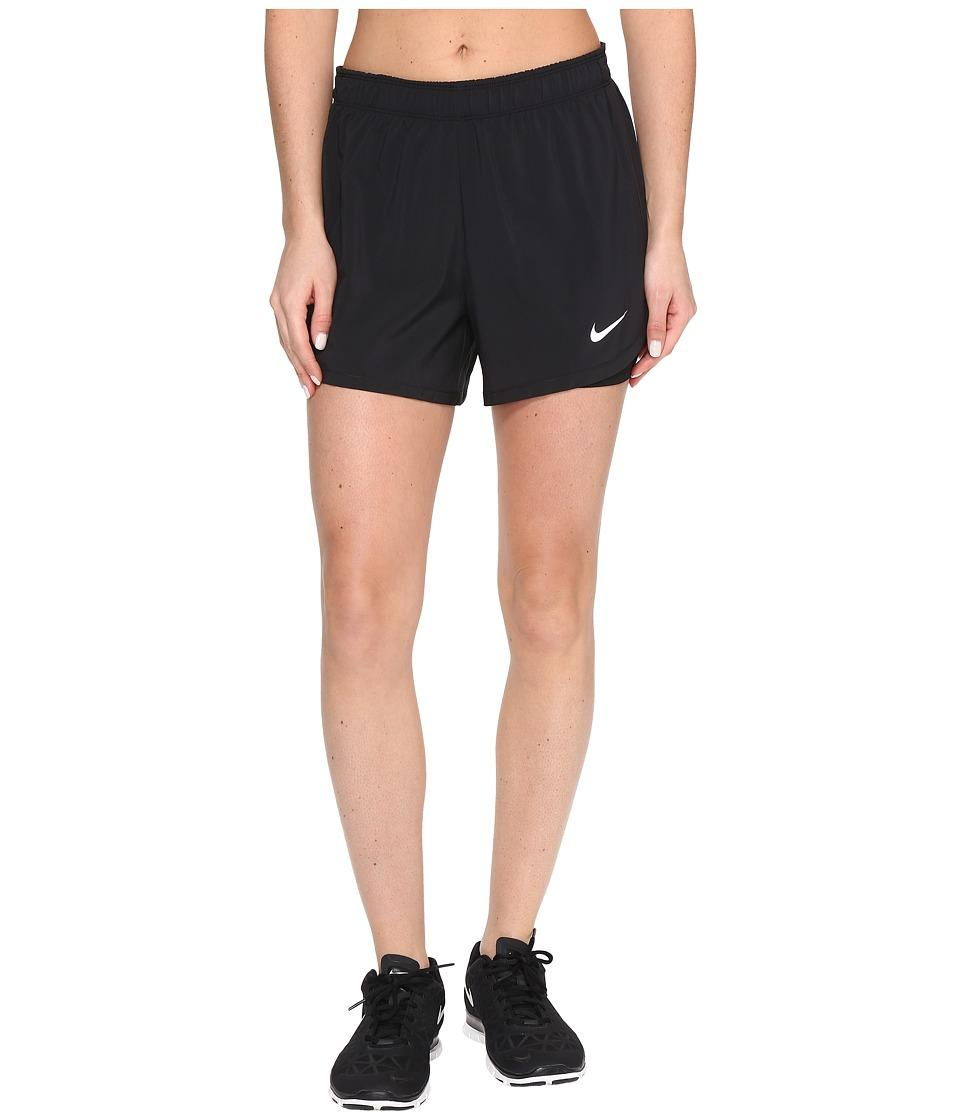 88f1a302f2 Nike - Flex 2-In-1 Training Short (Black/Black/White) Women's Shorts ...