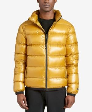 quality design wide selection of designs innovative design Men's Essential Puffer Jacket in Yellow