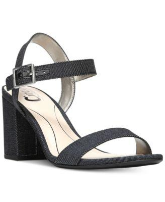 e04fb01612cb Circus By Sam Edelman Annettee Faux Suede Sandals In Black