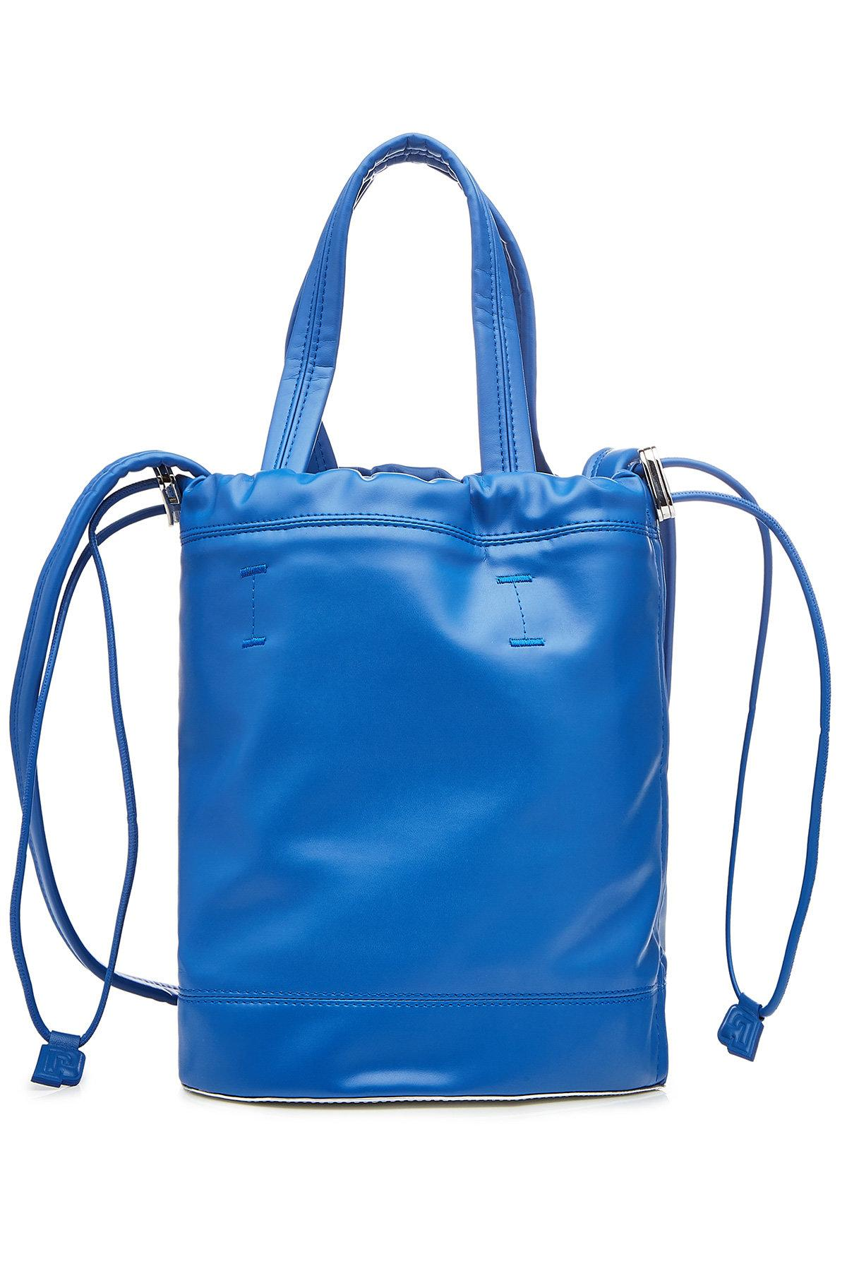Paco Rabanne Classic Bucket-Tote In Blue