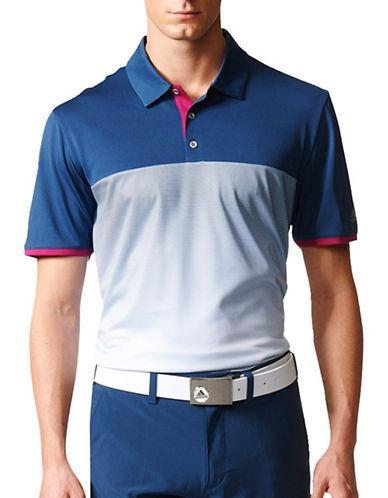 40890962 Adidas Originals Adidas Golf Climacool Gradient Striped Polo | ModeSens