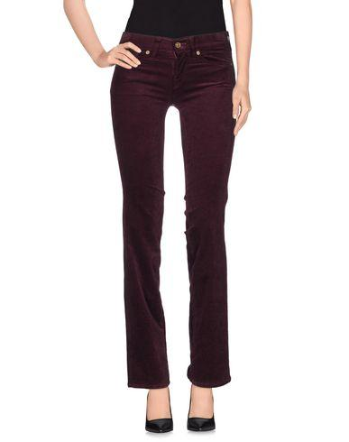 7 For All Mankind Casual Pants In Maroon