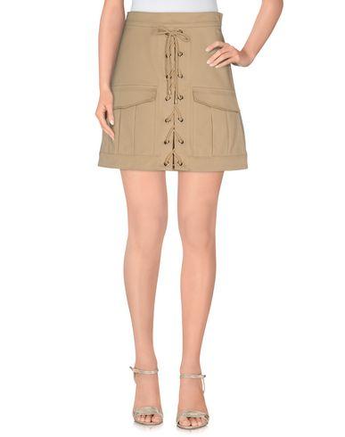 Roberto Cavalli Mini Skirt In Beige