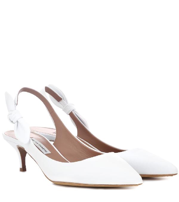 Women's Rise Slingback Kitten Heel Pumps in White