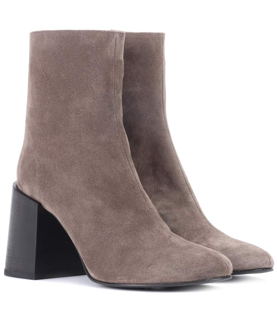 6542910362d Acne Studios Saul Reverse Suede Ankle Boots In Brown | ModeSens