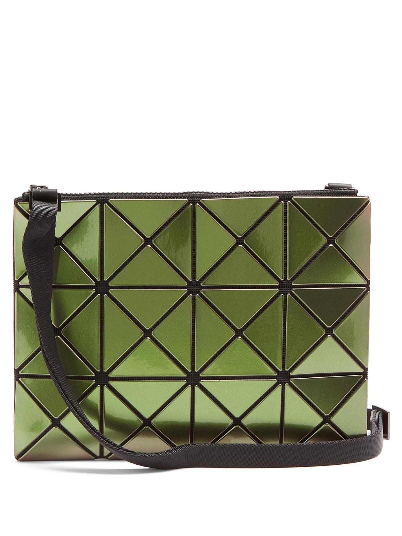 01c4accf17 Bao Bao Issey Miyake Lucent Gloss Cross-Body Bag In Green   ModeSens