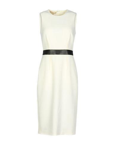 Michael Kors Knee-Length Dress In Ivory