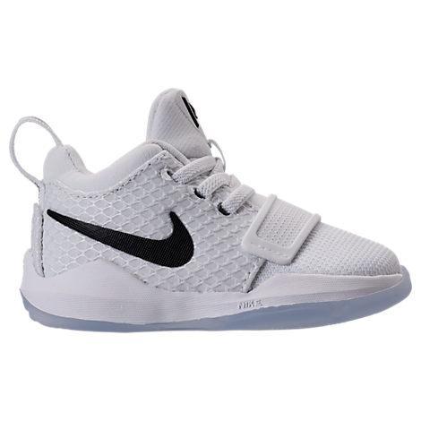 best website 0c21d 2001b Nike Boys  Toddler Pg 1 Basketball Shoes, White