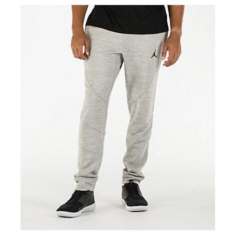 3be9b1dbbd0 Nike Men's Air Jordan Wings Fleece Jogger Pants, Grey | ModeSens