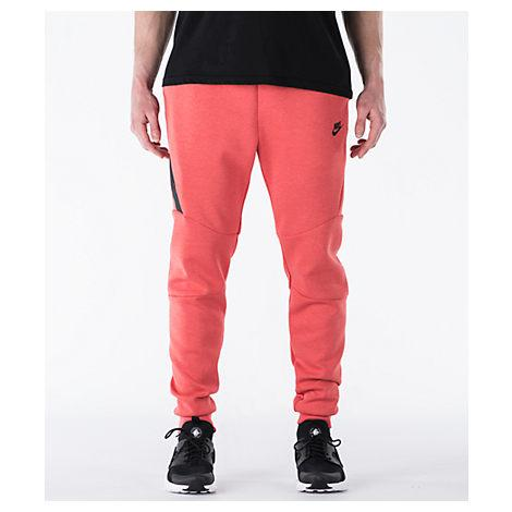 b8dc8ea0 Nike Men's Tech Fleece Jogger Pants, Red | ModeSens
