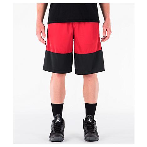 af1adb07a75188 Nike Men s Air Jordan Rise Solid Basketball Shorts