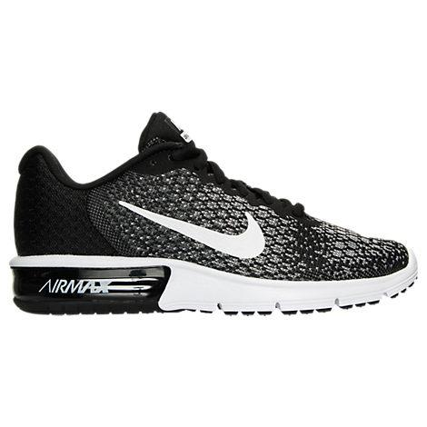 363dc2492db Women's Air Max Sequent 2 Running Shoes, Black