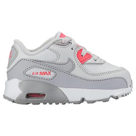 9a97273fe7033 Nike Girls  Toddler Air Max 90 Leather Casual Shoes