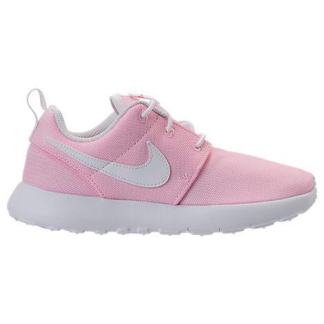 f595fc80ad Nike Girls' Preschool Roshe One Casual Shoes, Pink. Finish Line