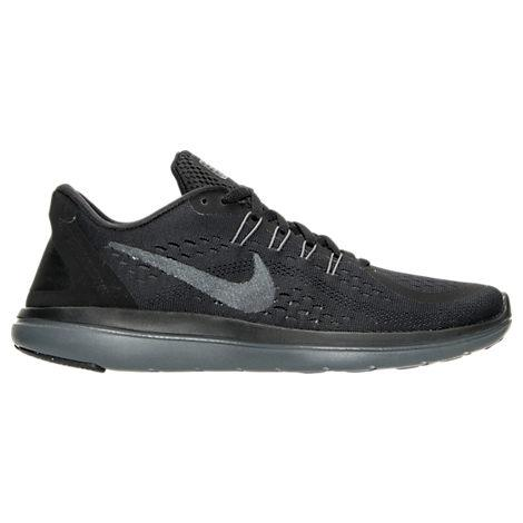 5efd66eec3453 Nike Women s Flex 2017 Run Running Sneakers From Finish Line In Black Mtlc  Hematite