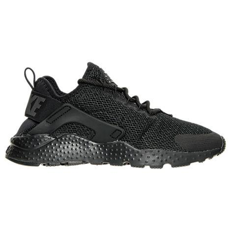 87e5ffcdbdc2 Nike Women s Air Huarache Run Ultra Running Sneakers From Finish Line In  Black Black-