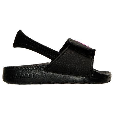 229156d68392 Nike Girls  Toddler Jordan Hydro 6 Slide Sandals