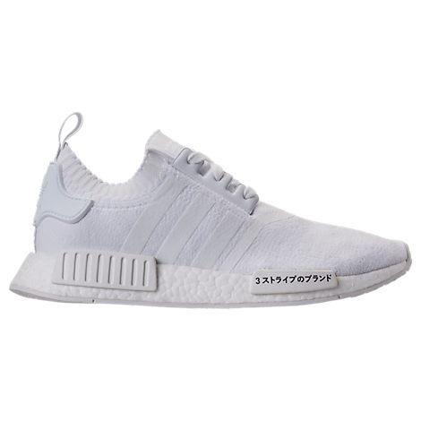 068c396e54ef Adidas Originals Adidas Men S Nmd R1 Primeknit Casual Sneakers From Finish  Line In White