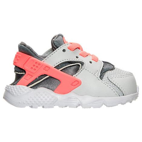c48172fab1 Nike Girls' Toddler Huarache Run Running Shoes, Grey. Finish Line
