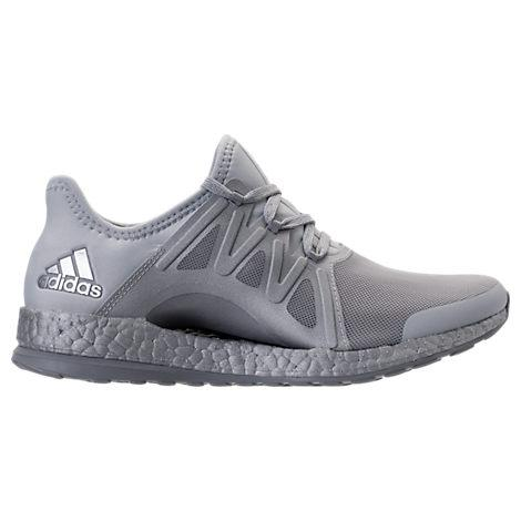 Adidas Women's Pureboost Xpose Ltd Running Sneakers From Finish Line In Grey