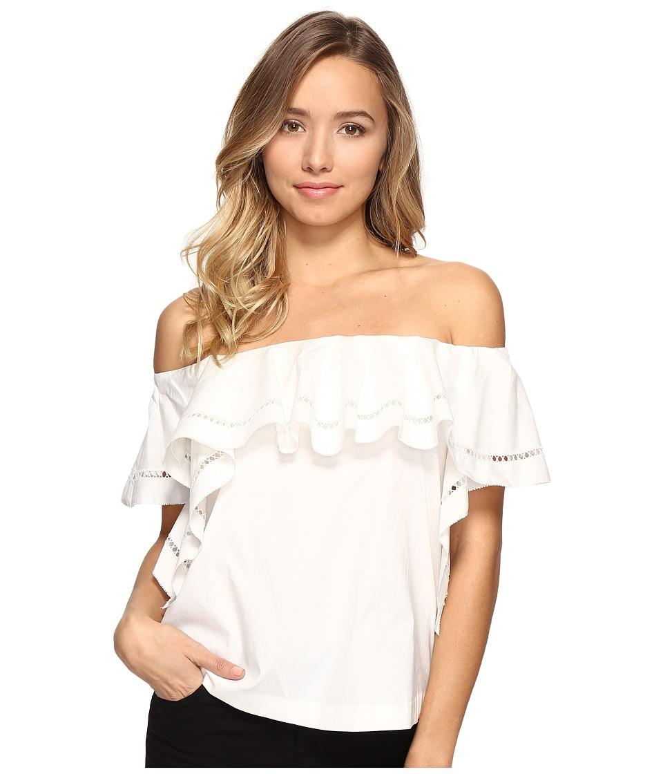 43132246e1c Rachel Zoe - Leanna Off The Shoulder Top (Ecru) Women's Clothing ...