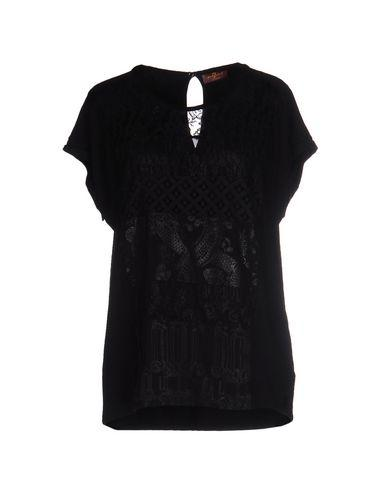 7 For All Mankind T-Shirt In Black