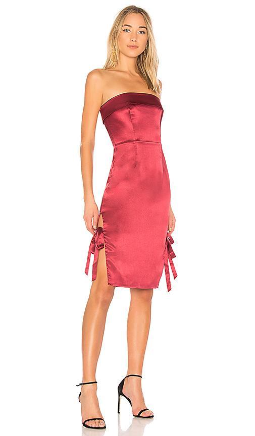 Nbd X Revolve Abella Dress In Red