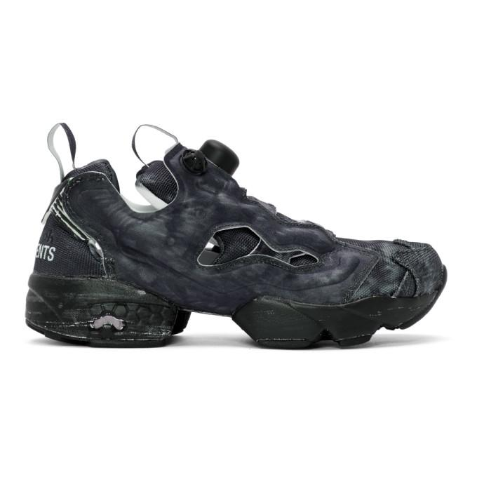Vetements Reebok Instapump Fury Og Logo-Print Neoprene And Mesh Sneakers In  Black. VETEMENTS 66d2751dc