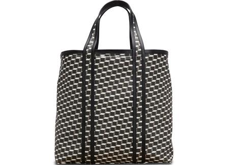 Pierre Hardy Multicolor Leather Shoulder Bag In Black-Wht-Black
