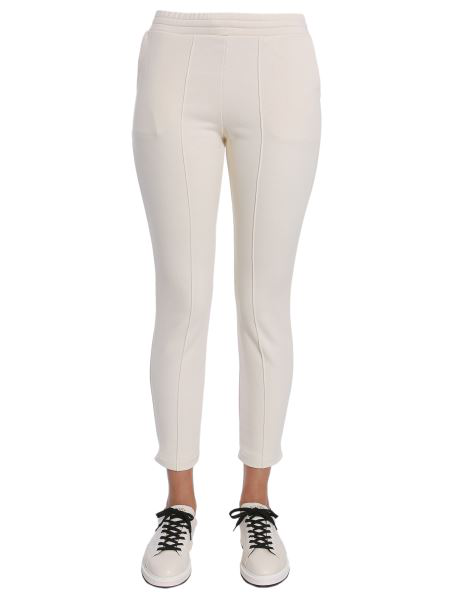 T By Alexander Wang Jogging Trousers In Ivory