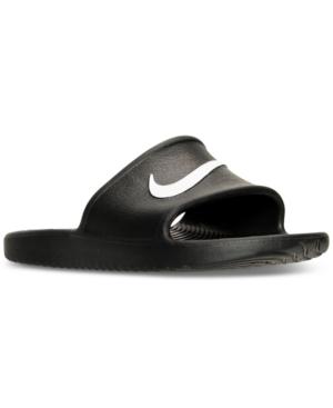 fd548210 Nike Men's Kawa Slide Sandals From Finish Line In Black/White   ModeSens