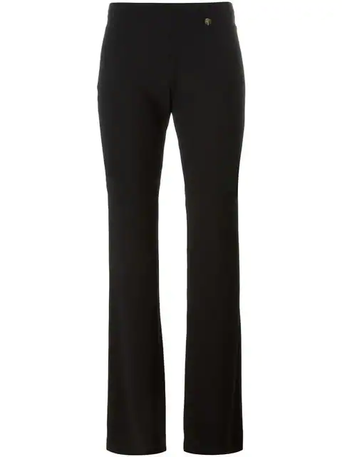 Versace Cady Flare Pants In Black