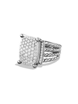 David Yurman Wheaton Gemstone & Diamond Ring