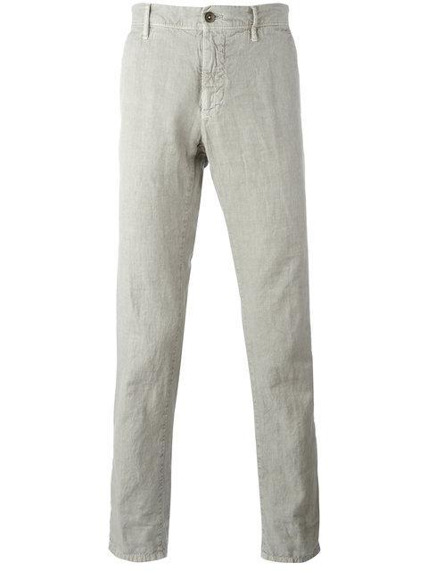 Incotex Slim-Fit Trousers - Neutrals In Nude & Neutrals