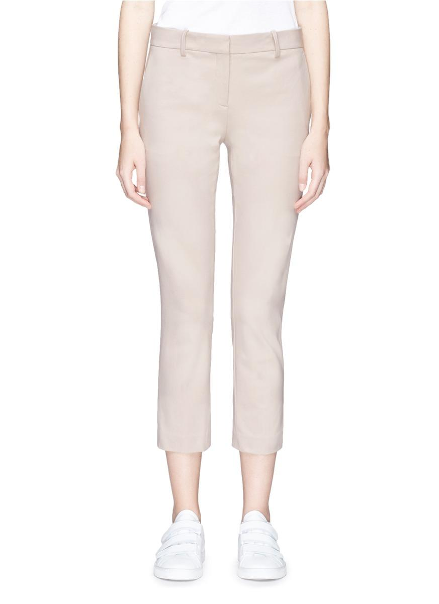 Theory 'Treeca 2' Cropped Suiting Pants