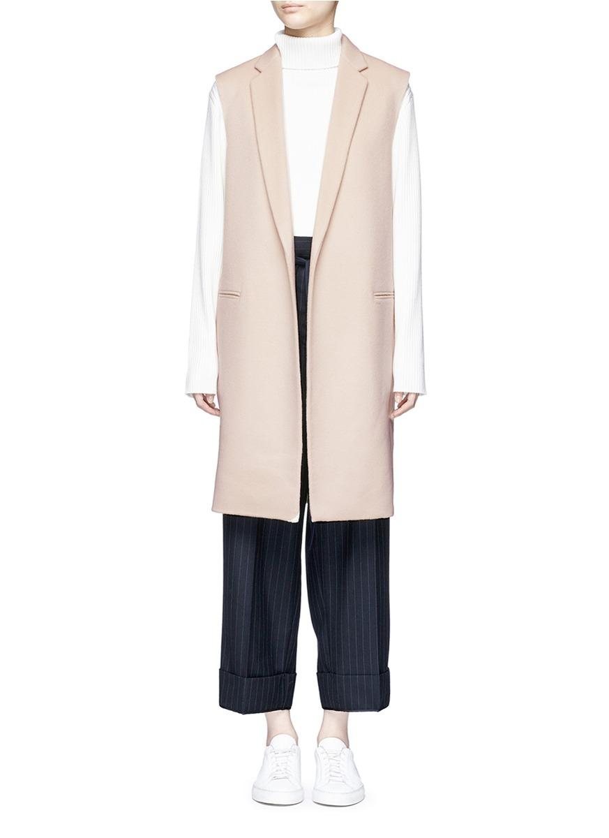 Theory 'Essential' Wool-Cashmere Melton Vest