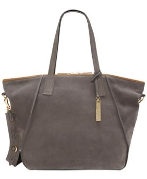 Vince Camuto Alicia Extra-Large Tote In Greystone