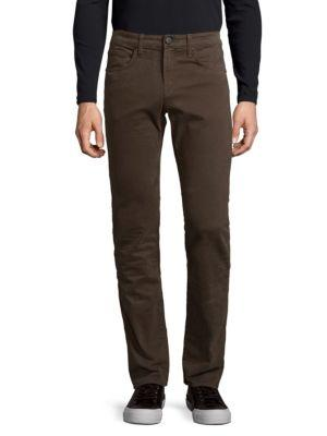 J Brand Kane Straight Fit Jeans In Turtle