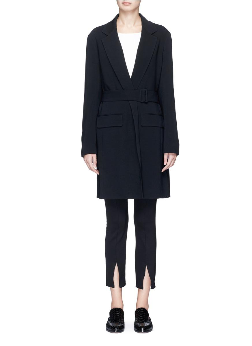 The Row 'Nesper' Oversized Belted Suiting Coat