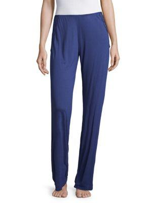 Eberjey Goya Wide Leg Pants In Lapis