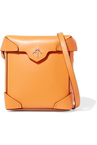 Manu Atelier Pristine Mini Leather Shoulder Bag